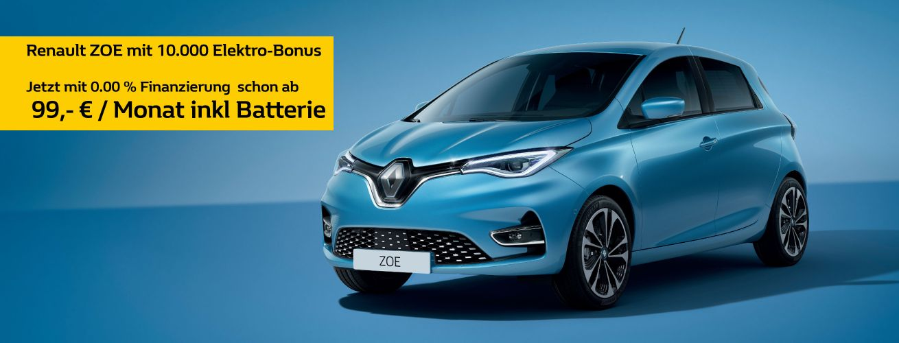 Renault ZOE Innovationsprämie
